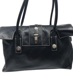 Michael Kors Bags - Michael Kors Black Leather Cover On Shoulder Bag